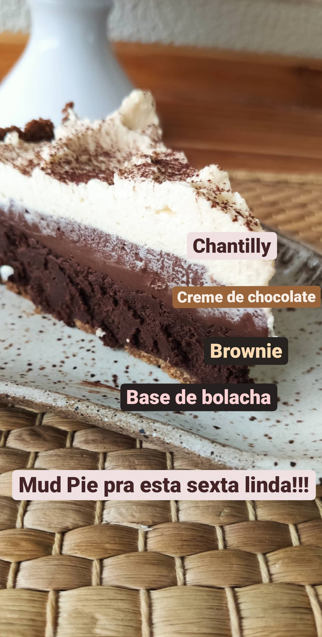 Ingredientes Mud Pie